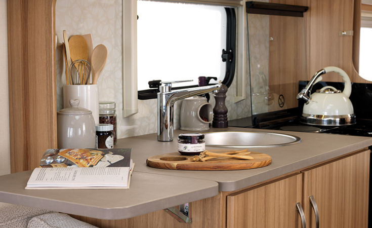 Lift-up Worktop Extension (Model Specific)